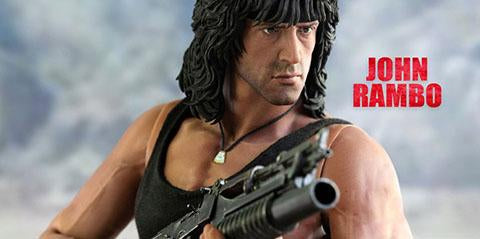 John Rambo III Action Figure 1:6 Scale By Add Threezero, Awesome Stuff!