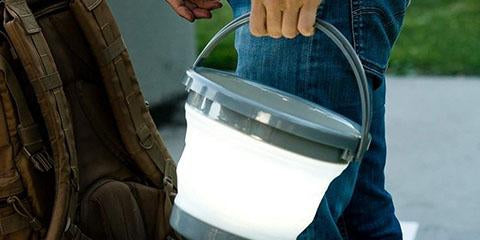 NEBO Brite Bucket Puts Foldable Camping Light For More Benefit Outdoors