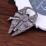 CoolStuffHouse Awesome Star Wars Millennium Falcon Metal Alloy Spacecraft Bottle Opener
