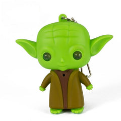 CoolStuffHouse Baby Yoda Keychain Star Wars Action Figure The Force Awakens Key Rings