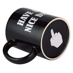 CoolStuffHouse Creative Black Have A Nice Day Cool Mug Cup