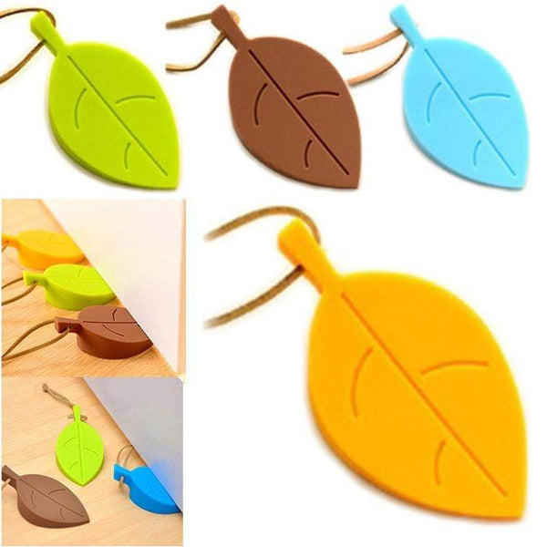 Creative Leaf Design Safety Silicone Door Stop Home Decor For Home HOME-GARDEN LIVING ROOM