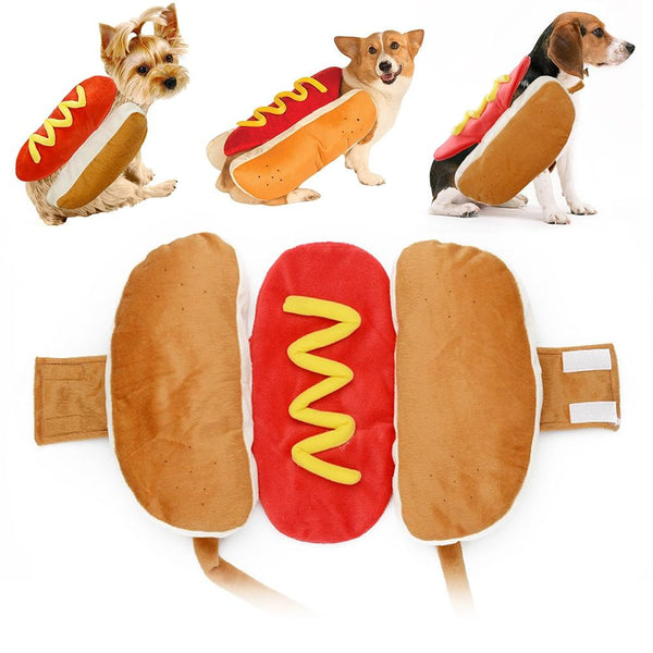 Cute Hallowen Hot Dog Pet Costume Funny Clothes for Dogs PET PRODUCTS DOG PRODUCTS