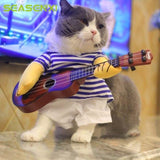 CoolStuffHouse Cute Sailor Costume For Cats and Dogs Cool Pet Costumes for Halloween guitar suit / M