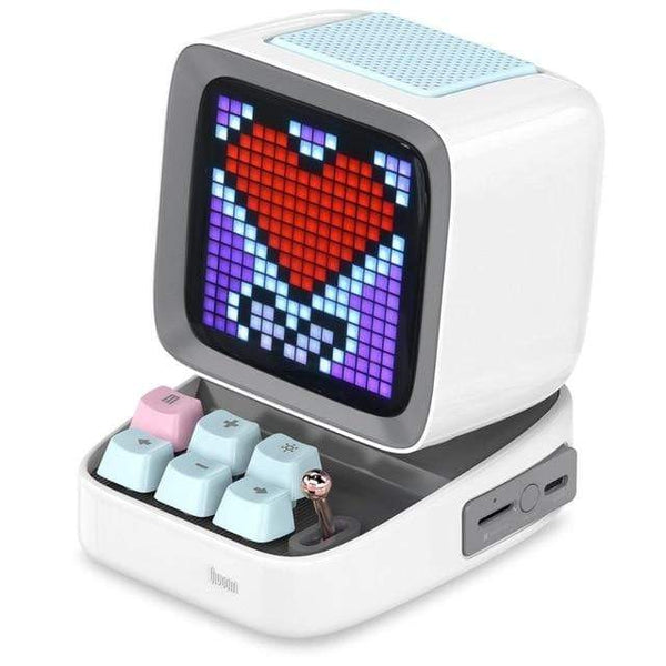 Divoom Ditoo Portable Pixel Art Bluetooth Speaker Alarm Clock by App TECH GADGETS SPEAKERS