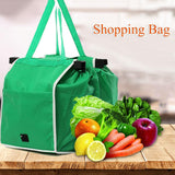 CoolStuffHouse Foldable Green Cloth Bag Awesome Thing For Buy