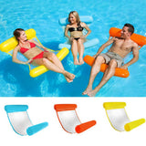 CoolStuffHouse Foldable Inflatable Floating Bed Cool Pool Stuff