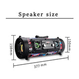 CoolStuffHouse Gorgeous Looking Portable Cylinder Bluetooth Speaker