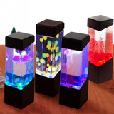 CoolStuffHouse LAMPS Jellyfish Led Night Light Tank Aquarium Style LED Desk Lamp