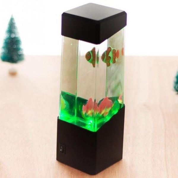 Jellyfish Mood Lamp Aquarium Style LED Night Lamp Office Desk Lamp HOME-GARDEN LAMPS