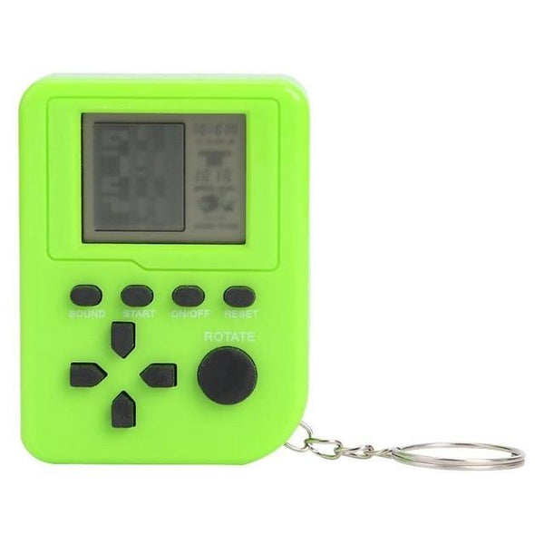 Mini Nostalgic LCD Console Keychain Gag Toys For Girls Boys FUN-GAMES TOYS