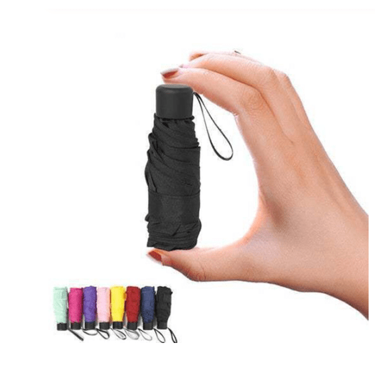 Mini Pocket Umbrella Waterproof Awesome Stuff for Unisex HOBBY-LIFESTYLE OUTDOOR