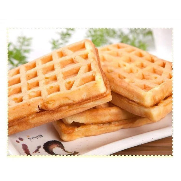 Nonstick Double Sided Waffle Pan Grill for Best Breakfast HOME-GARDEN KITCHEN