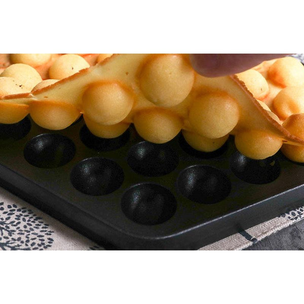 Nonstick Iron Egg and Waffle Mold Plate HOME-GARDEN KITCHEN