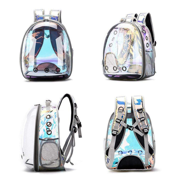 Breathable Portable Pet Carrier Bag Transparent Backpack For Cat and Dog PET PRODUCTS CAT PRODUCTS
