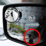 CoolStuffHouse Rearview Auxiliary Mirror 360 Degree Round Cool Thing To Car