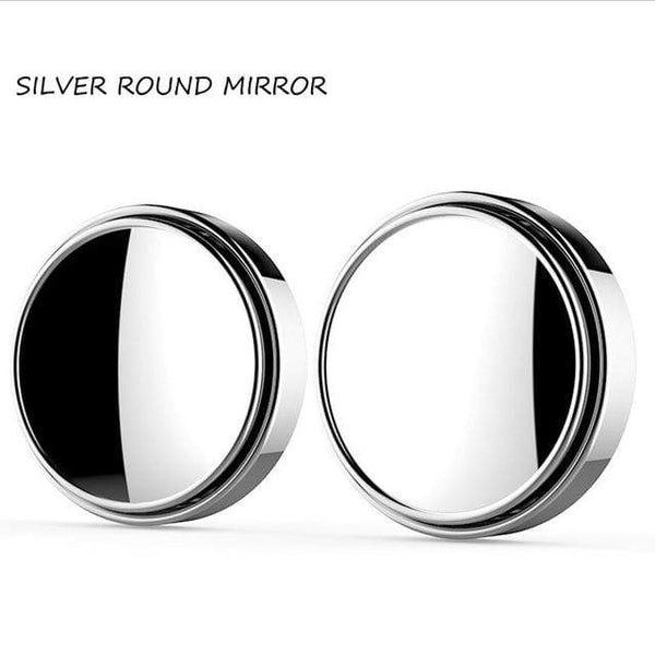 Rearview Auxiliary Blind Spot Mirror 360 Degree Round Cool Car Gadgets TECH GADGETS CAR ACCESSORIES