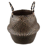 CoolStuffHouse Seagrass Decorative Wicker Storage Basket Awesome Thing for Home model 9 / 38x34 cm
