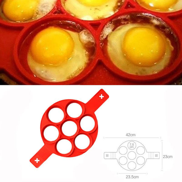 Silicone Egg Pancake Baking Mold Must Have Gadgets to House HOME-GARDEN KITCHEN