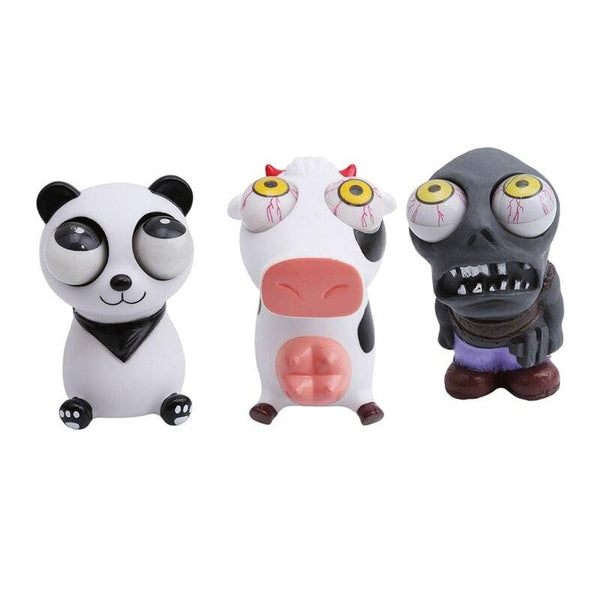 Stress Relief Soft Popping Eyes Scary Joke Toy FUN-GAMES TOYS
