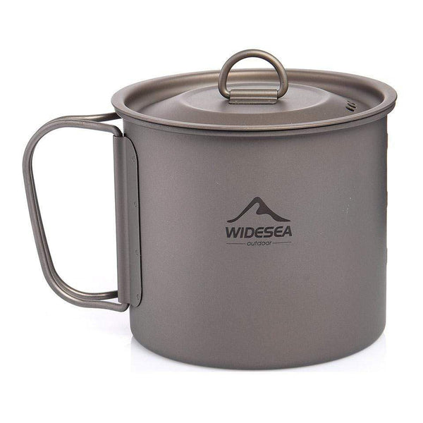 Titanium Camping Mug A Necessary Item for Picnic or Travel HOBBY-LIFESTYLE OUTDOOR