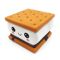 CoolStuffHouse TOYS 2019 New Fashion Cartoon Chocolate Biscuit Squishies 9.5x9 CM