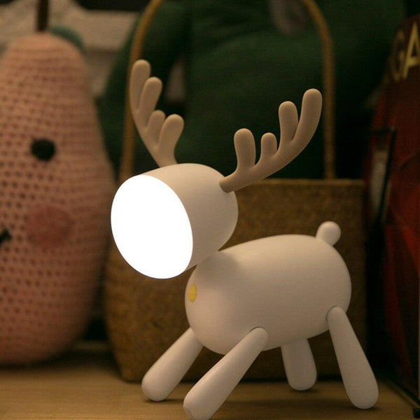 USB Led Deer Cartoon Table Lamps Best Thing for Home HOME-GARDEN LAMPS