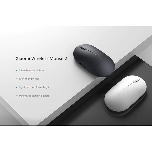 Xiaomi Wireless Mouse 2 Skin-Friendly Light Comfortable 1000dpi 2.4GHz TECH GADGETS COMPUTER