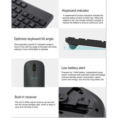 CoolStuffHouse Xiaomi Wireless Keyboard & Mouse Set 2.4GHz Black