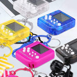 FUN-GAMES GAMES Mini Game Console Portable Keychain Game Toy Best Gift For Nerds