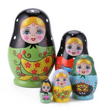 Eco-Friendly Handmade Painted Russian Matryoshka Doll Home Decoration