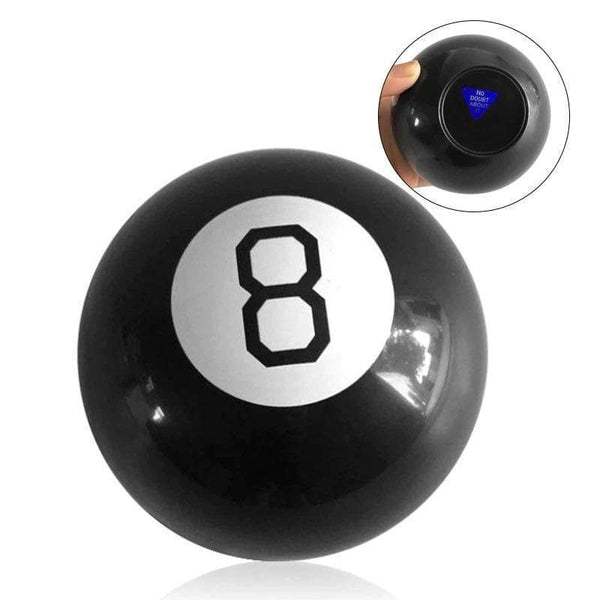 The Mystic Magic 8 Ball Luckly Decision Making Fortune Telling Retro Toy FUN-GAMES TOYS
