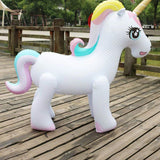 HOBBY-LIFESTYLE BEACH Gigantic Backyard Sprinkler Unicorn Water Toy Awesome Stuff For Kids 01