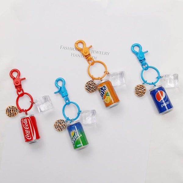 Creative Mini Beverage Keychain Accessories Attractive Stuff to Buy HOBBY-LIFESTYLE CLOTHING ACCESSORIES