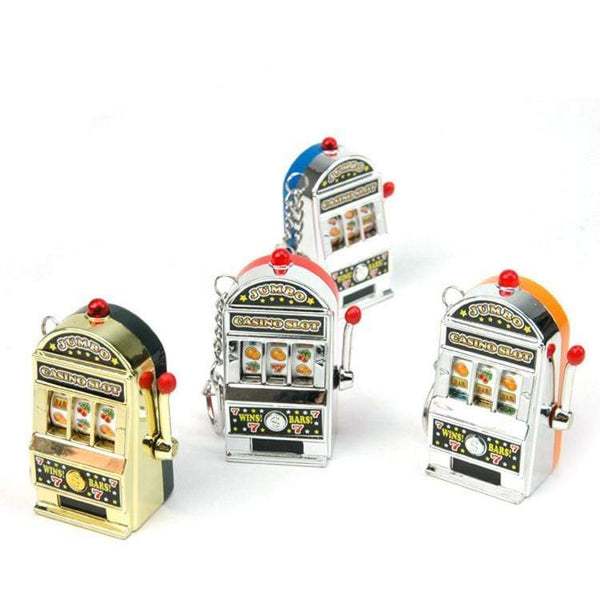 Mini Casino Slot Keychain A Luminous Object to Buy HOBBY-LIFESTYLE CLOTHING ACCESSORIES