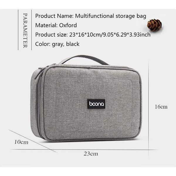 Storage Organizer Cable Bag Must Have Gadgets to Travel HOBBY-LIFESTYLE CLOTHING ACCESSORIES