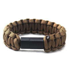 HOBBY-LIFESTYLE CLOTHING ACCESSORIES Type-C Braided Charger Bracelet Awesome Stuff To Buy