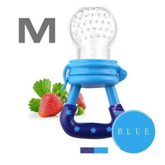 HOBBY-LIFESTYLE HEALTH Fresh Fruit Food Nourishing Baby Pacifier Cool Stuff To Buy blue M