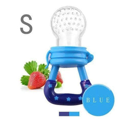 HOBBY-LIFESTYLE HEALTH Fresh Fruit Food Nourishing Baby Pacifier Cool Stuff To Buy blue S
