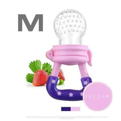 HOBBY-LIFESTYLE HEALTH Fresh Fruit Food Nourishing Baby Pacifier Cool Stuff To Buy pink M