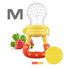 HOBBY-LIFESTYLE HEALTH Fresh Fruit Food Nourishing Baby Pacifier Cool Stuff To Buy Yellow M