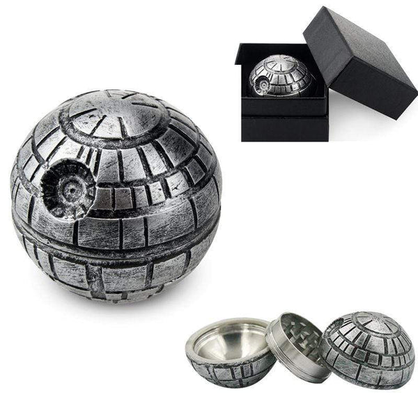 Star Wars Herbal Tobacco Grinder Cool Stuff 3 Pieces Alloy Hand Crusher HOBBY-LIFESTYLE PARTY