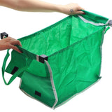 HOBBY-LIFESTYLE OUTDOOR Green Cloth Foldable Shopping Bag Awesome Thing For Buy 01