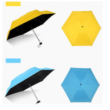 HOBBY-LIFESTYLE OUTDOOR Mini Pocket Umbrella Waterproof for Unisex
