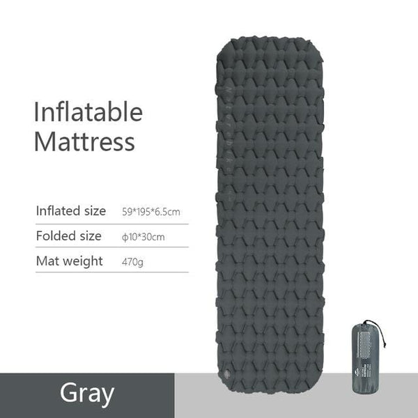 Naturehike Nylon Inflatable Camping Mat Great Things for Camping HOBBY-LIFESTYLE OUTDOOR