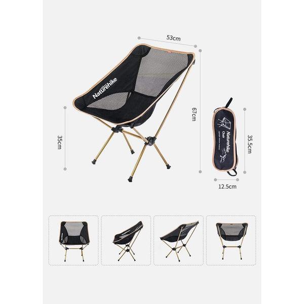 Naturehike Portable  Ultralight Camping  Fishing Chair HOBBY-LIFESTYLE OUTDOOR