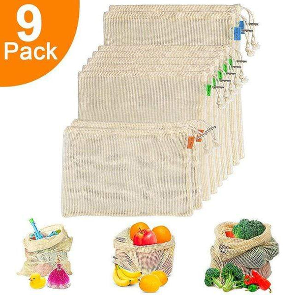 Organic Cotton Washable Shopping Bag Must Have Gadgets To Buy HOME-GARDEN KITCHEN