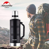 HOBBY-LIFESTYLE OUTDOOR Stainless Steel Double Layer Vacuum Thermos
