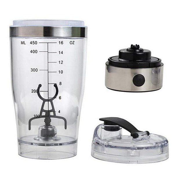 USB Electric Protein Mixer Bottles Cool Smart Thing To Buy HOBBY-LIFESTYLE OUTDOOR
