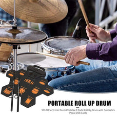 HOBBY-LIFESTYLE PARTY Portable Electronic Digital Drum 01